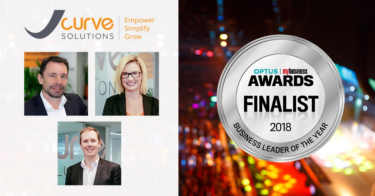 Optus My Business Awards - Finalists Five Times; JCurve Solutions