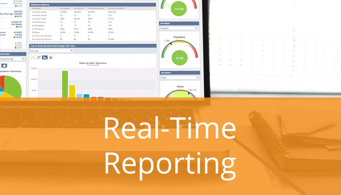 Stop Losing Sales & Profit - Real-Time Reporting Keeps It Real
