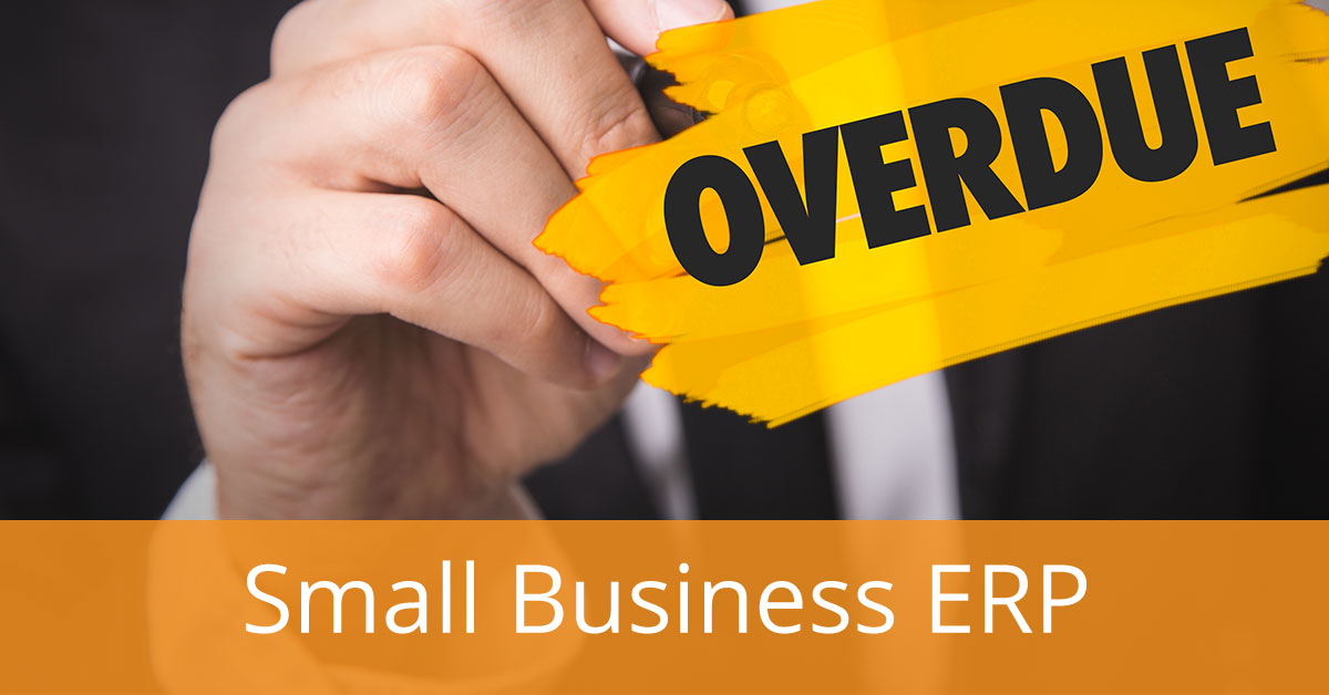 Are You Overdue for a Small Business ERP?