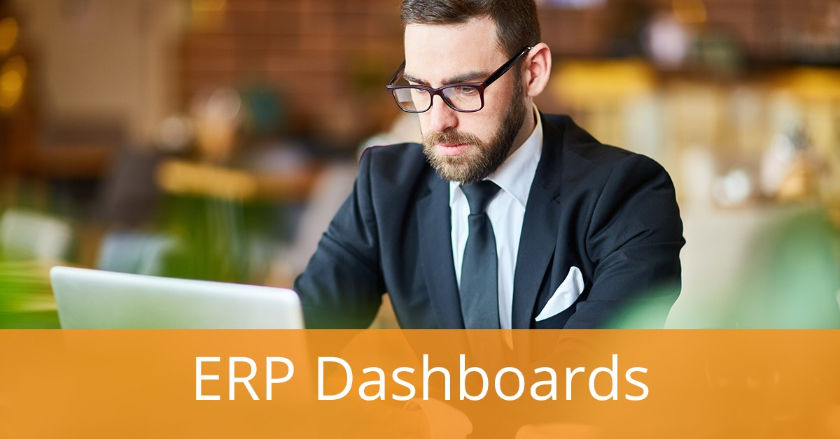 The Benefits of ERP Dashboards: Giving Your Business Visibility and Control