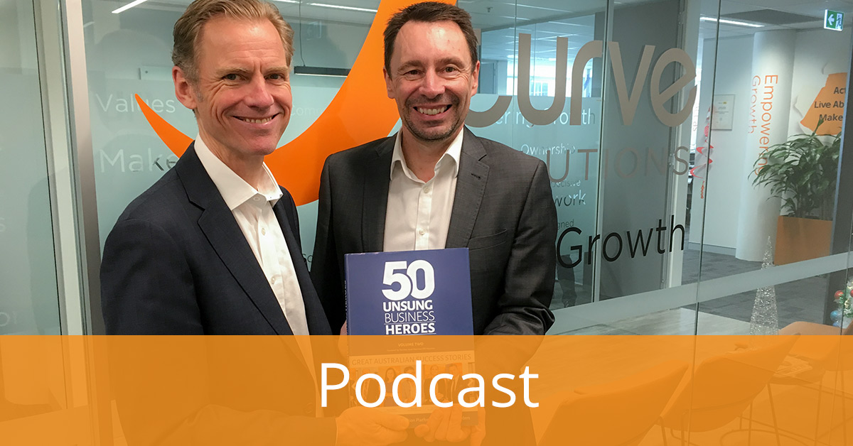 Podcast - Stephen Canning, JCS CEO, Shares His Story with Unsung Business Heroes