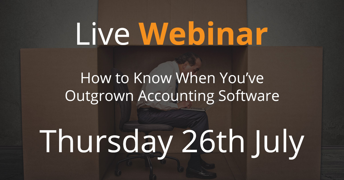 Webinar - How to Know When You've Outgrown Accounting Software