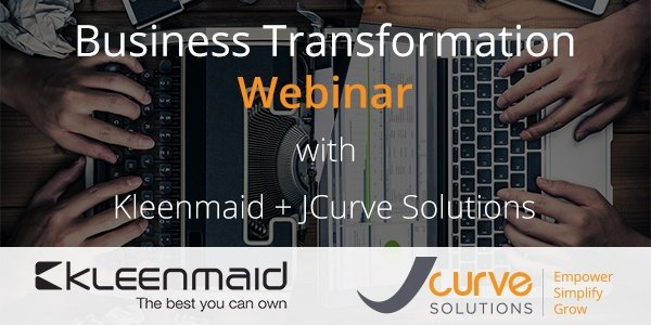 Business Transformation Webinar - Get the Insights from Australian Success Story, Kleenmaid