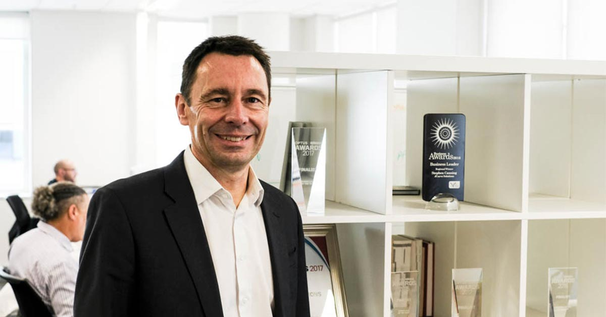 Stephen Canning Featured in Chief Executive Story: A Perspective On Culture and Values