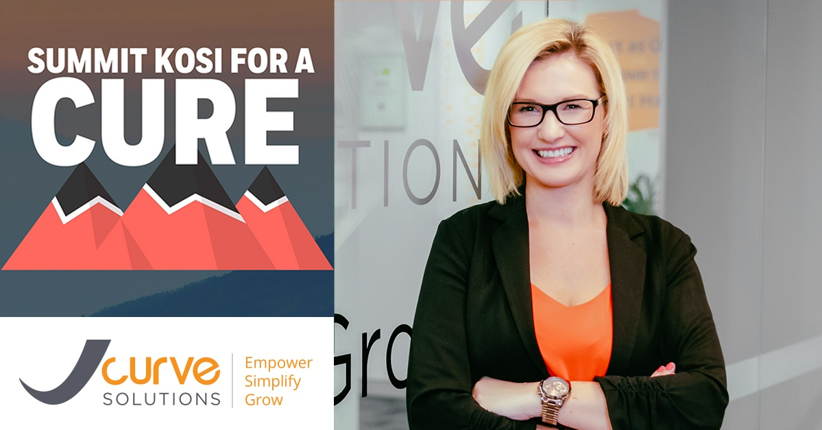 Climbing for a Cure - CMO, Kate Massey, Raises Funds for Cure Cancer Australia