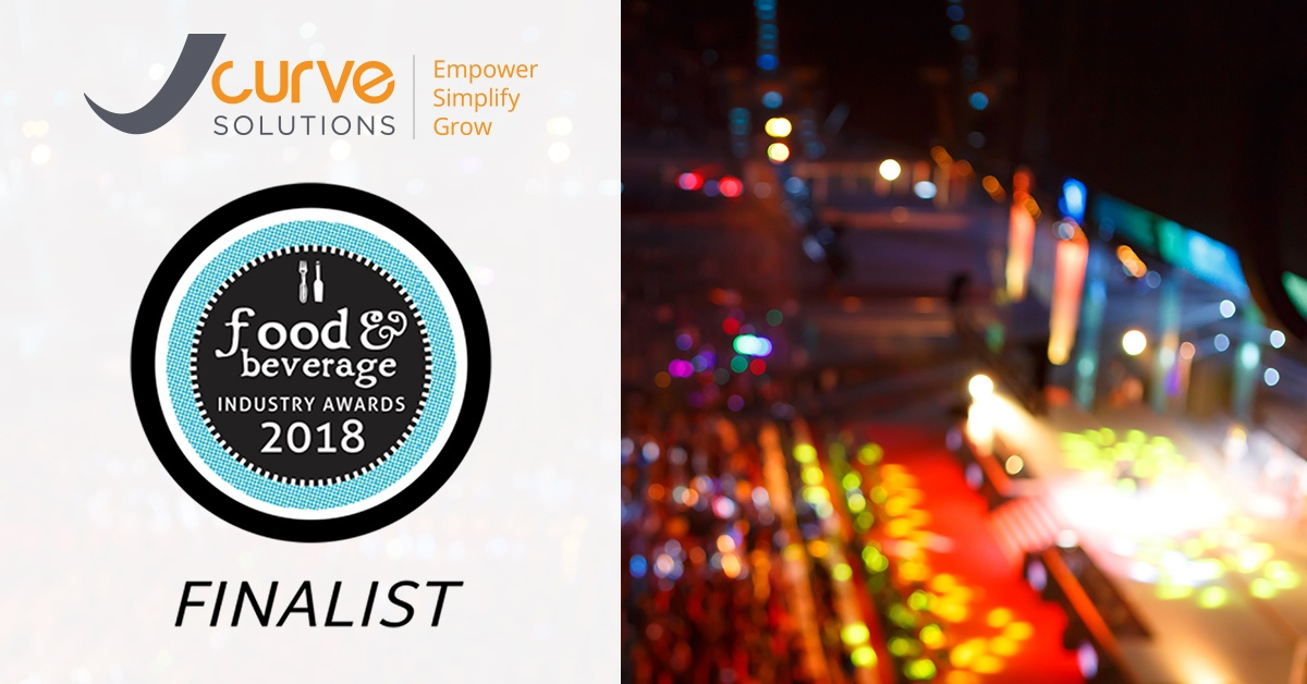 Food and Beverage Industry Awards 2018 - JCurve Solutions are Finalists!